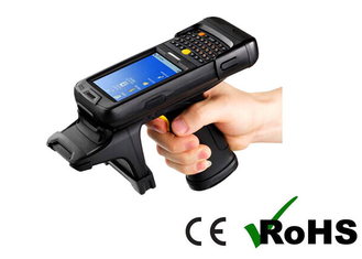 China android system ISO18000-6C Handheld UHF RFID Reader for portable warehouse inventory reader supplier