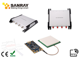 Four Ports programming rfid reader long range With IMPINJ R2000 Chip