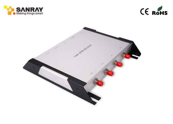 Four Port Fixed RFID Reader With 840~960 MHz Working Frequency
