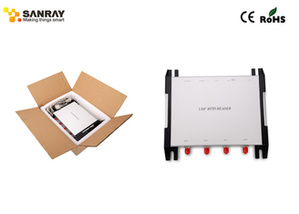 China High Performance embedded rfid reader , 4 Port uhf rfid scanner For Rfid Tracking supplier