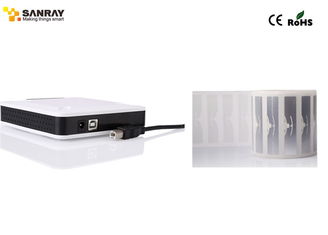 China Small size desktop integrated USB UHF RFID Reader Writer for rfid solution with software supplier