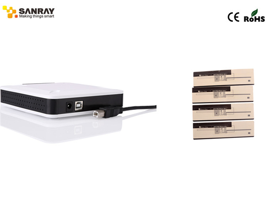 Compact high end white rfid usb reader for rfid inventory system