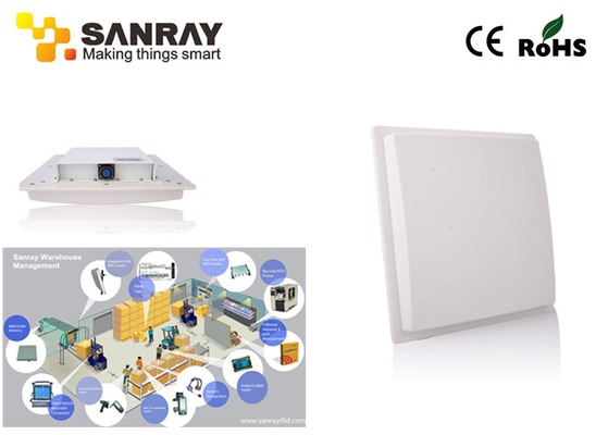 China ISO 18000 6C EPC Class 1 Gen 2 Integrated Fixed rfid reader and writer 10 Meter Reading Distance supplier