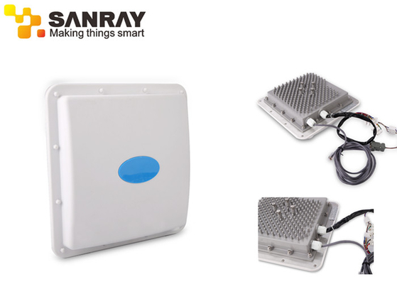Long Distance UHF Directional 2.45GHz Active RFID Reader F3421 For Warehousing