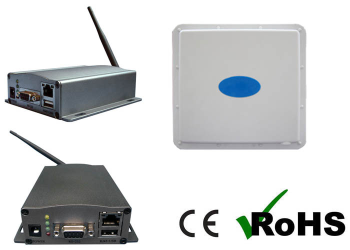 2 45 GHz RS485 Directional Active RFID Reader With Free Software