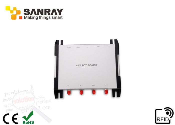 Fixed High Reliability long range uhf rfid reader IMPINJ R2000 Chip