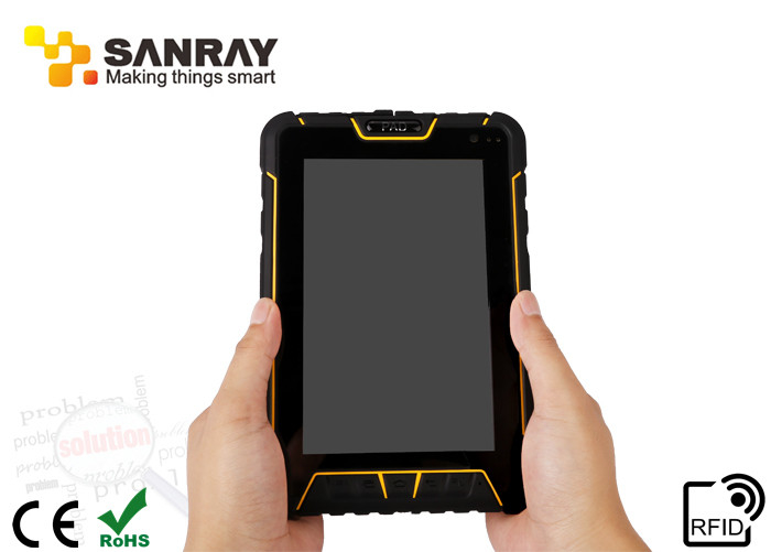 Rugged industrial IP67 android tablet PDA with rfid reader function