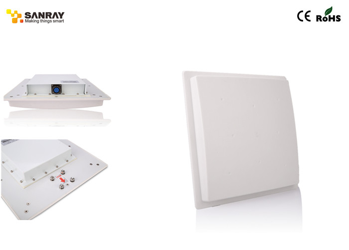Long Distance Fixed RFID Reader WIFI / portable rfid antenna reader 9dbi Antenna