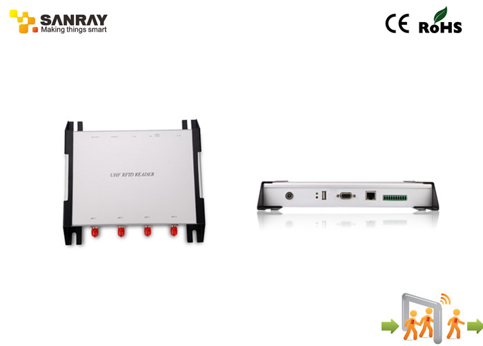 Mobile Long Range Four port RFID Reader For industrial rfid systems