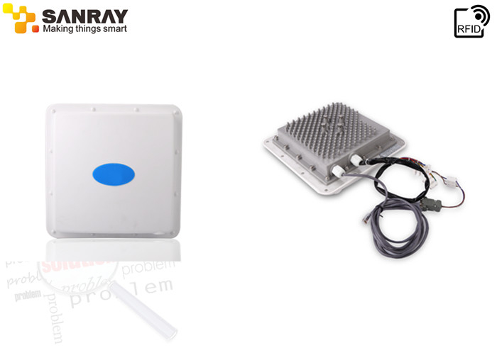 RS - 232 Communication interface access control Active RFID Reader environment friendly