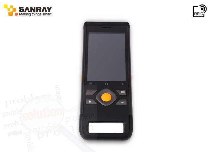 Touch Screen Handheld PDA Barcode Scanner With Quad core CPU