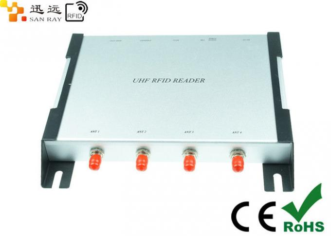 High Performance UHF Fixed RFID Reader Writer For Indoor And Outdoor Applications