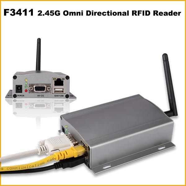 Omni Directional 2.45Ghz rfid portable reader  For Transportation management
