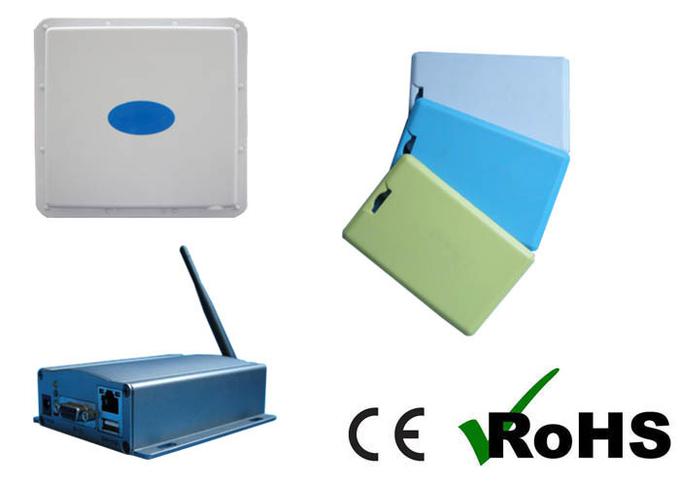 Assets / People Tracking RTLS Long Range OMNI Active RFID Reader 2.4Ghz