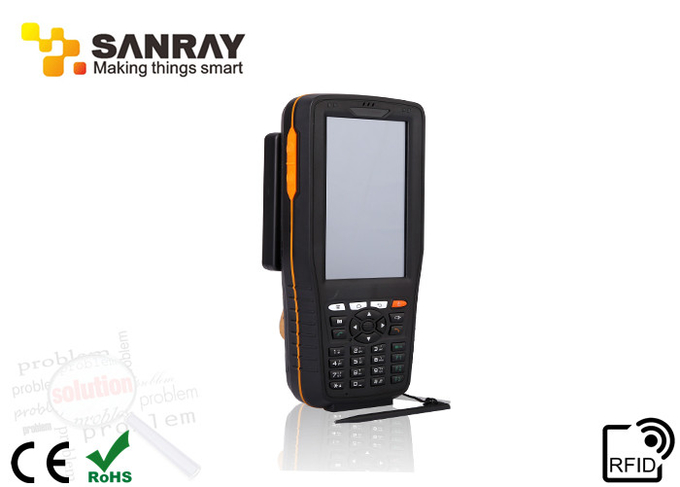 WIFI Handheld Long Range Rfid Reader writer android 4.0 operation system