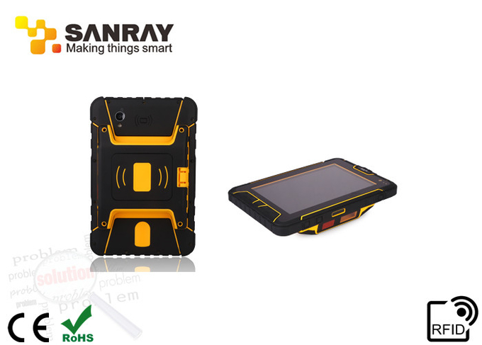 PDA uhf Rfid Solution , Handheld RFID Reader 840-960 MHZ Frequency And 2GB RAM
